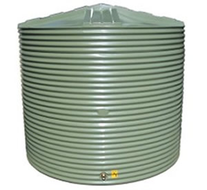 10000 Litre Moores round PVC Rainwater Tank