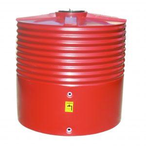 1400 Litre Moores Round PVC Rainwater Tank
