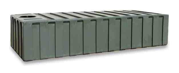 2000 Litre Enviro Underdeck Low Rainwater Tank