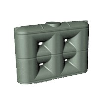 2000 Litre Enviro Standard Slimline PVC Rainwater Tank