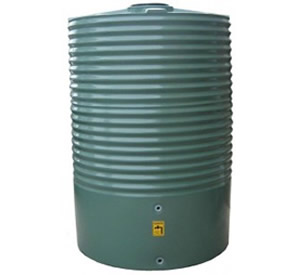 2200 Litre Moores Round PVC Rainwater Tank