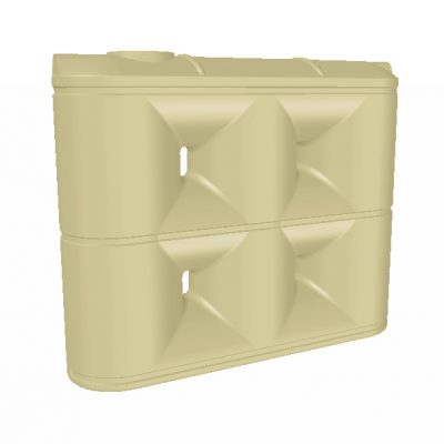 3000 Litre Enviro Tall Slimline PVC Rainwater Tank