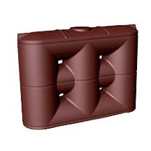 4000 Litre Enviro Slimline PVC Rainwater Tank