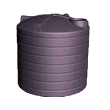4200 Litre Enviro Round PVC Rainwater Tank