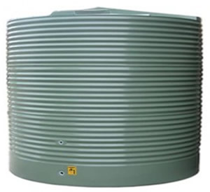 5000 Litre Moores Round PVC Rainwater Tank