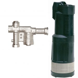 DAB Divertron 1200 Submersible Pump & AcquaSaver