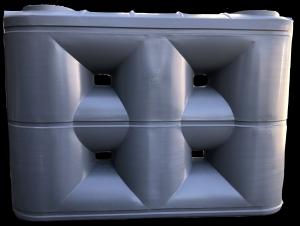 3000 Litre Enviro Standard Slimline PVC Rainwater Tank