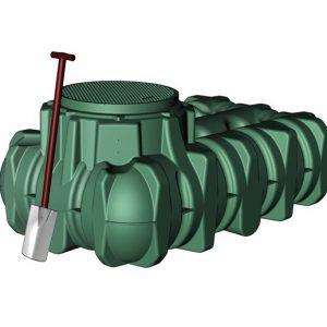 1500 Litre underground rainwater tank
