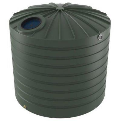 10000 Litre Bushmans Round PVC Rainwater Tank