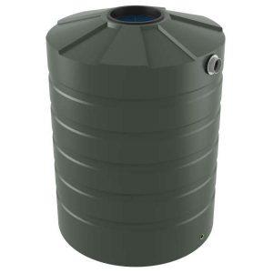 1500 Litre Bushmans Round PVC Rainwater Tank