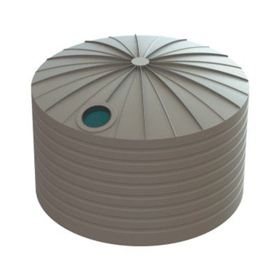 22500 Litre Bushmans Round PVC Rainwater Tank