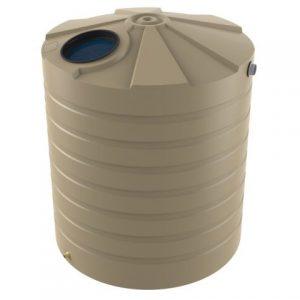 5000 Litre Bushmans Round PVC Rainwater Tank