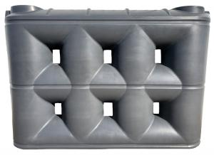 3000 Litre Enviro Superslim PVC Rainwater Tank