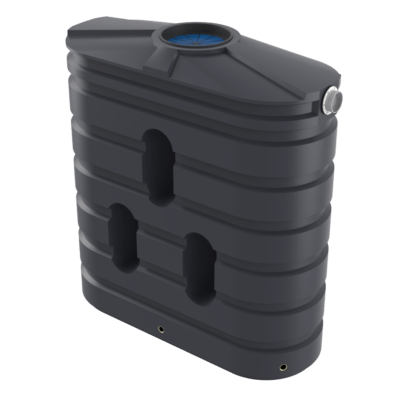 1000 Litre Bushmans Slimline PVC Rainwater Tank